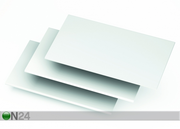 Lisähylly vaatekaappiit SENSAS, 3 kpl CM-38067