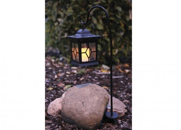 Puutarhavalaisin aurinkopaneelilla LYHTY LED AA-38704