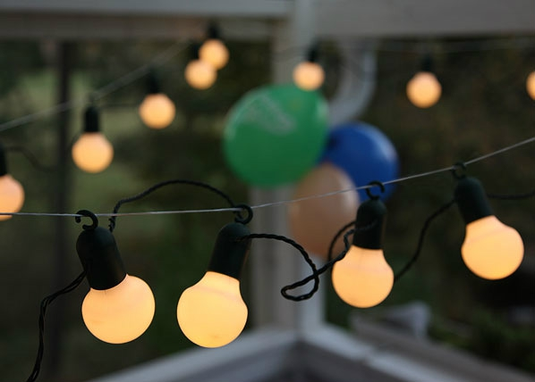 Valoketju PARTY BALLS 20LED AA-38914