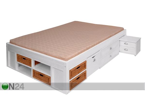 Sänky LUNIA, mänty 160x200 cm FY-39232