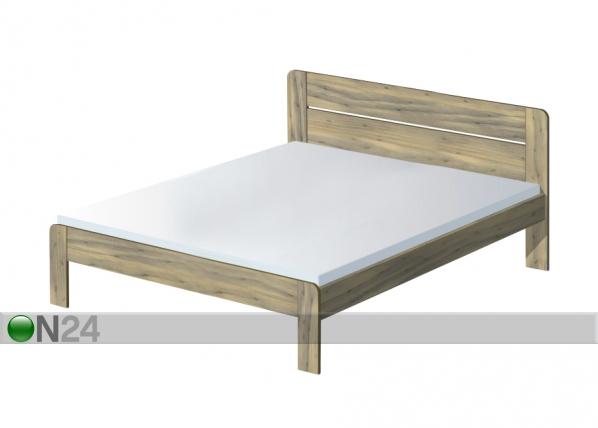 Sänky DECO 160x200 cm, mänty AW-40238