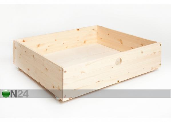 Vuodevaatelaatikko Kiku, viimeistelemätön mänty VM-42047