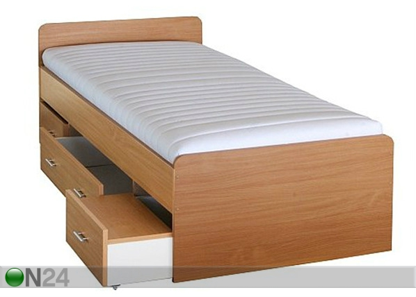 Sänky+vuodevaatelaatikot 90x200 cm TF-42959