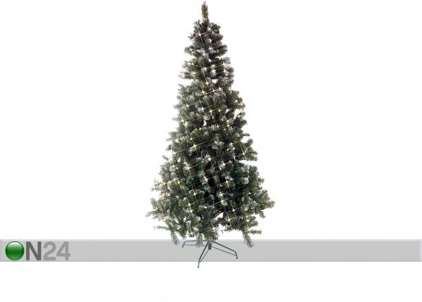Tekokuusi lumella ja LED valoilla EDMONTON 225 cm AA-43278