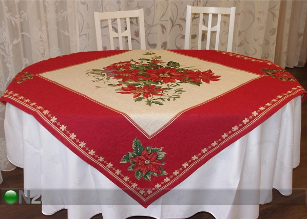 Gobeliini joululiina ORNAMENT 140x140 cm TG-43738