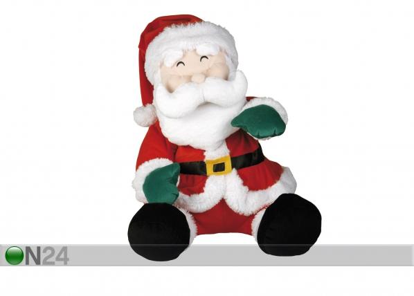 Joulukoriste istuva joulupukki AA-43935