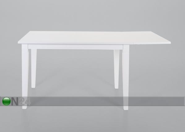 Jatkettava ruokapöytä SMOGEN 80x120-160 cm CM-45450
