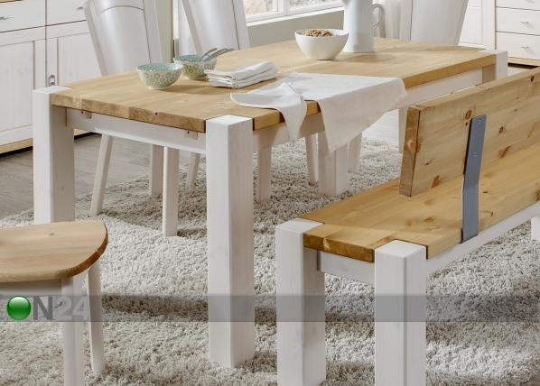 Ruokapöytä GULDBORG 90x180 cm PI-46090