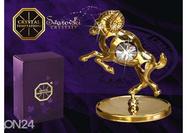 Koriste kullatuilla Swarovski kristalleilla OINAS MO-47017