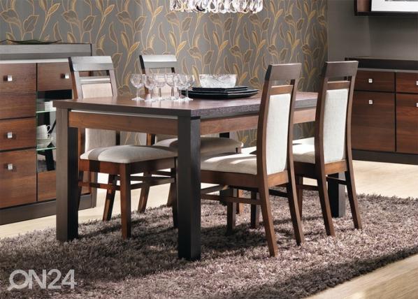 Jatkettava ruokapöytä 90x160-200 cm TF-47309