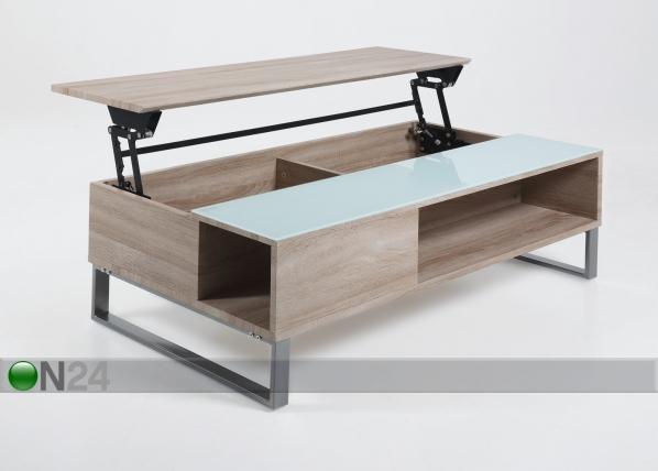 Sohvapöytä ylösnostettavalla kannella AZALEA CM-47398