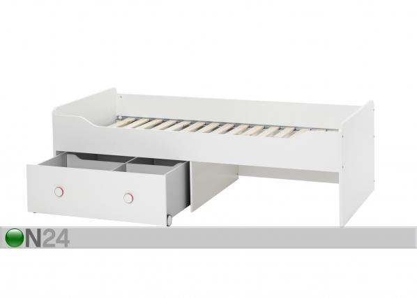 Sänky COMBEE 90x200 cm+vuodevaatelaatikko AQ-47600