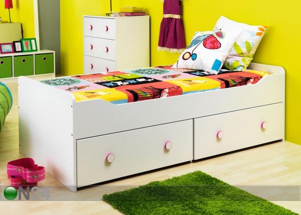 Sänky COMBEE 90x200 cm+vuodevaatelaatikko AQ-47602