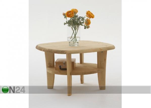 Sohvapöytä, mänty 74x74 cm PI-47670