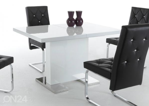 Jatkettava ruokapöytä IRIS II 80x120-160 cm SM-48549