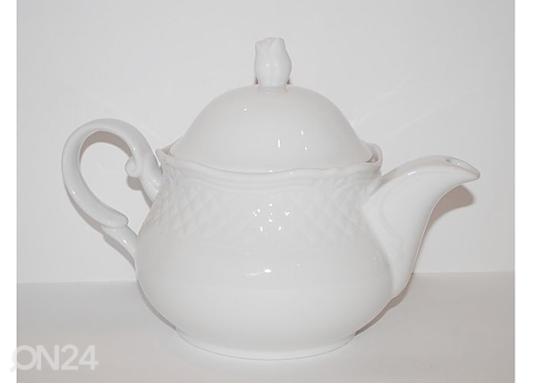 Valkoinen teekannu AFRODYTA 1,4 l NN-50320
