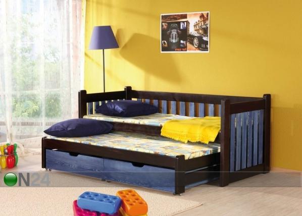 Lasten sänkysarja 2-osainen, mänty 80x180 cm TF-50514