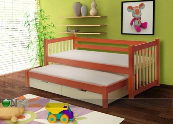 Lasten sänkysarja 2-osainen, mänty 80x180 cm TF-50515
