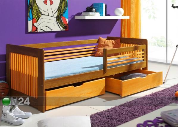 Lasten sänkysarja, mänty 80x180 cm TF-50516