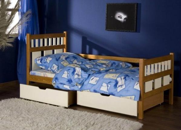Lasten sänkysarja LUISA, mänty 80x180 cm TF-50519
