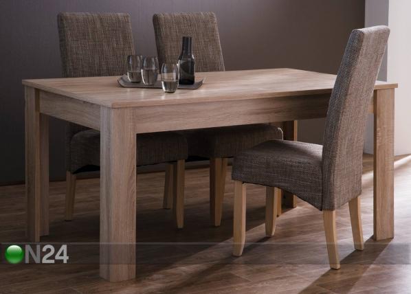 Ruokapöytä NAXIS 90x160 cm CM-50781