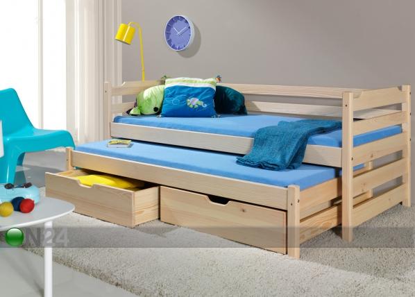 Lasten sänkysarja 2-osainen MARC, mänty 80x180 cm TF-51165