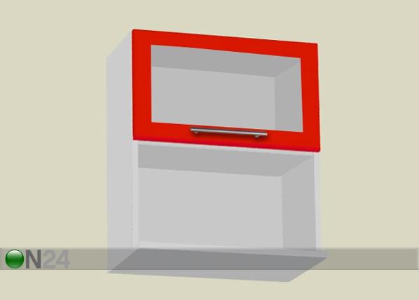 Lasiovinen seinäkaappi mikroaaltouunille AR-51593