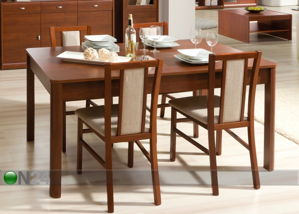 Jatkettava ruokapöytä DOVER 90x160-200 cm TF-51795