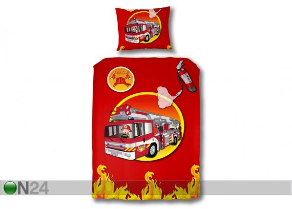 Lasten vuodevaatesetti FIRE TRUCK QA-51903