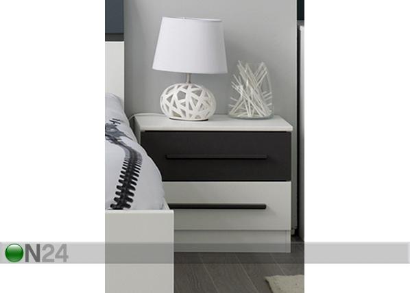 Yöpöytä ALIX valkoinen MA-52386