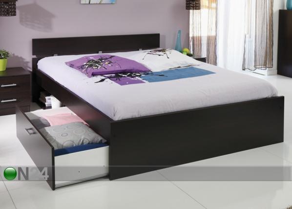 Sänkysarja INFINITY 160x200 cm coffee MA-53281