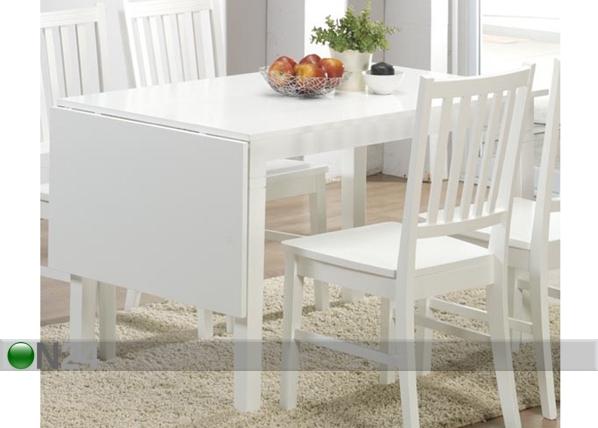 Klaffipöytä RAMSTAD 80x120+45 cm BL-54234