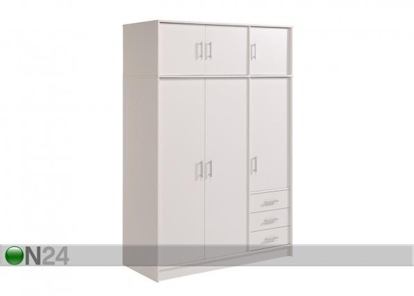 Vaatekaappi INFINITY, valkoinen MA-54583