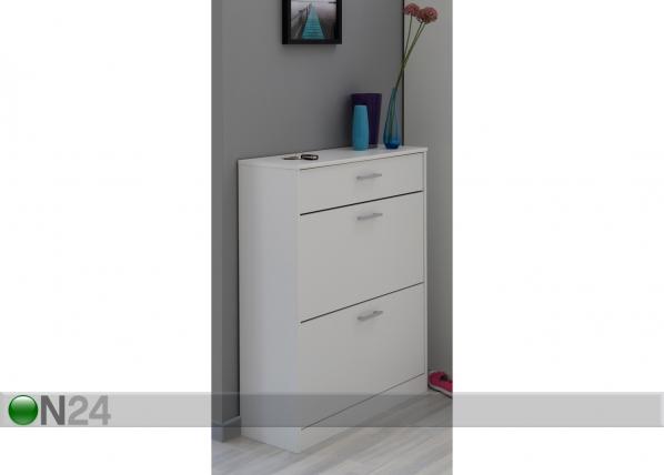 Jalkinekaappi INFINITY, valkoinen MA-54592