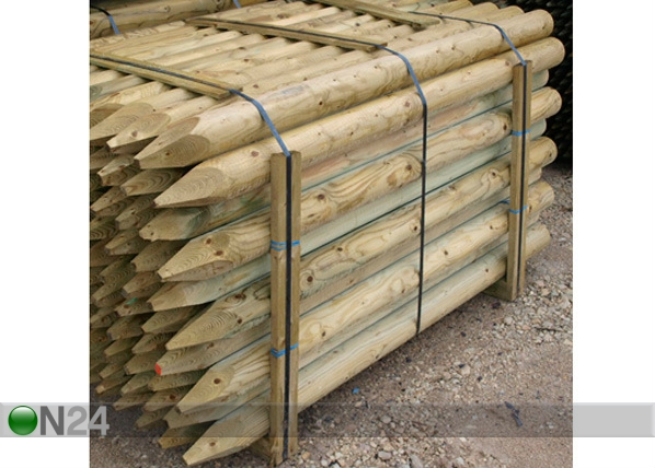 Kyllästetty puutolppa, 4 kpl PO-54869