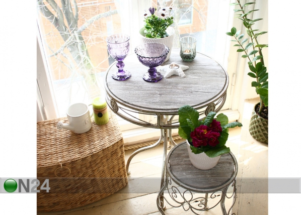 Pöytä MACY Ø50x62 cm EV-54957