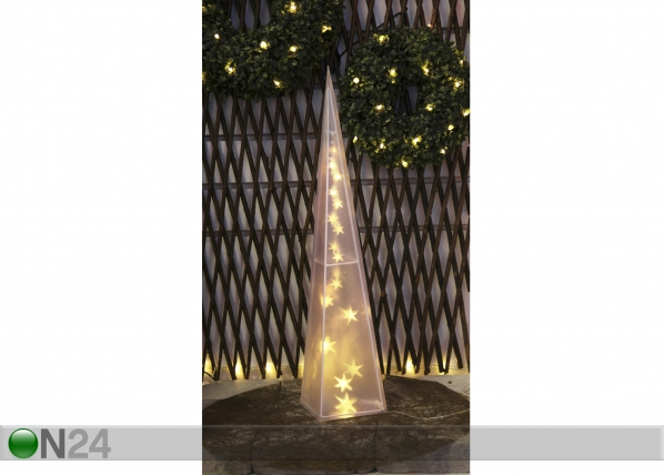 Joulukoriste LED CONE 3D AA-56556