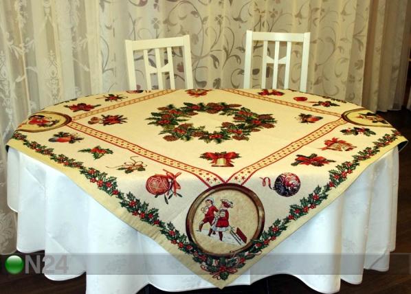 Gobeliini joululiina HOLLY 100x100 cm TG-56815
