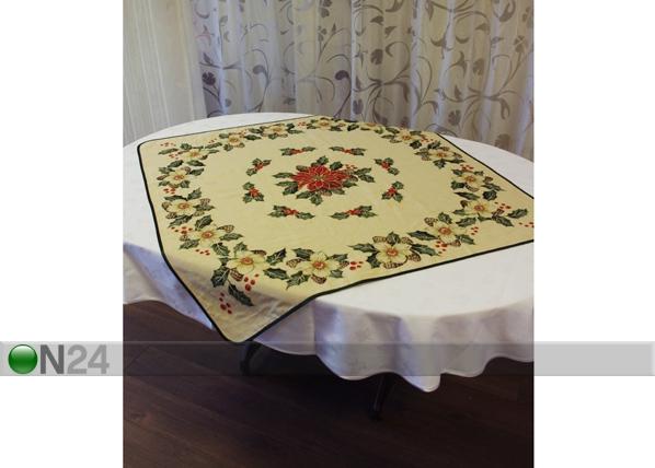 Gobeliini joululiina BARDI 100x100 cm TG-56817