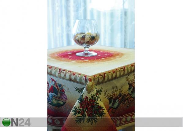 Gobeliini joululiina NOEL RENOS 140x140 cm TG-56825