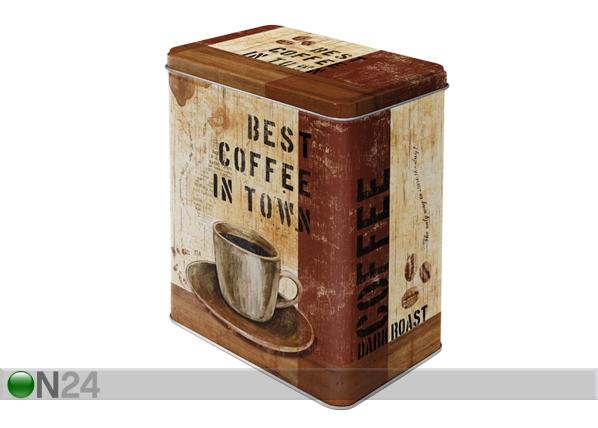 Peltipurkki BES COFFEE 3 L SG-56847