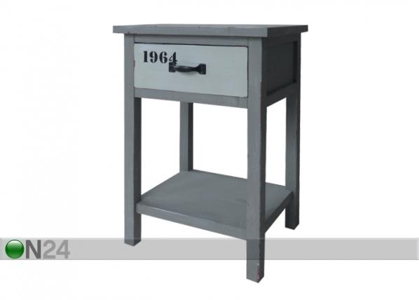 Yöpöytä TOULON-09 BL-57196