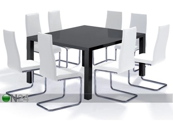 Ruokapöytä SILVA 120x120 cm BL-58337