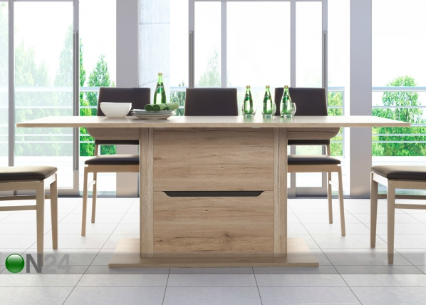 Jatkettava ruokapöytä WIN EXTENSION 90x150-200 cm TF-58341
