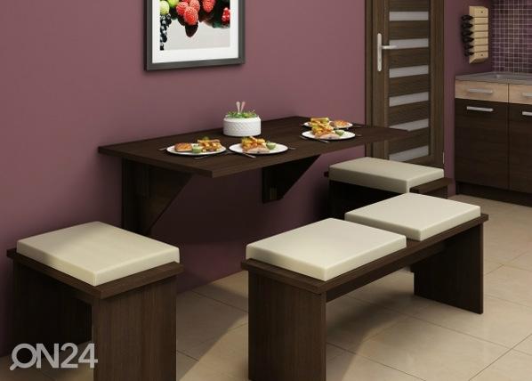 Klaffipöytä 70x130 cm TF-58375