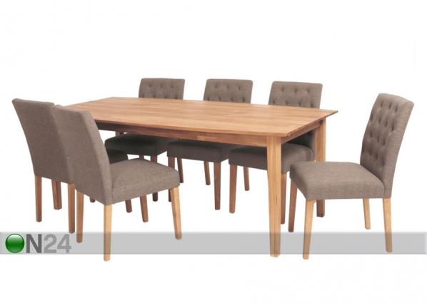 Ruokapöytä EKA 100x200 cm TS-58698
