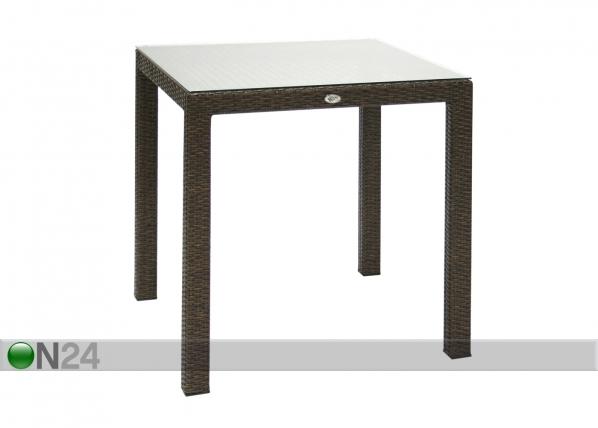 Puutarhapöytä WICKER EV-58805