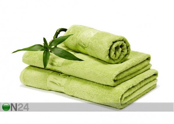Bambu pyyhkeet kirkas vihreä AN-58952