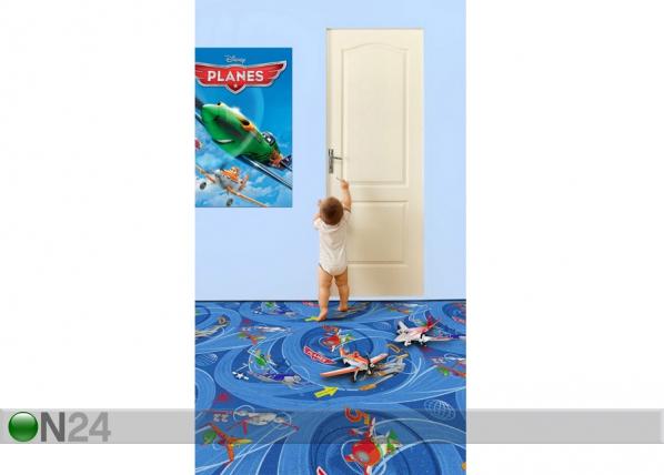 Lastenhuoneen matto PLANES 160x240 cm AF-59042