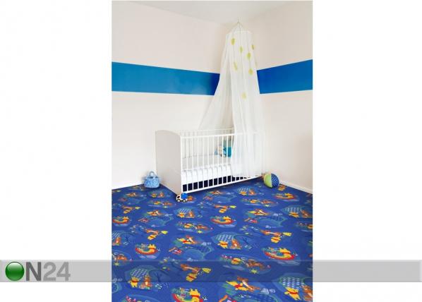 Lastenhuoneen matto WINNIE WOODLAND 133x133 cm AF-59049